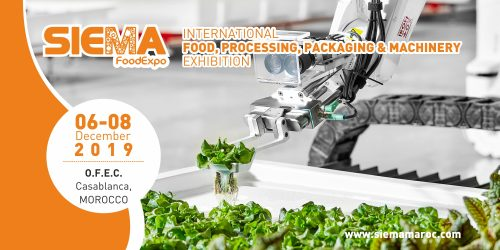 Morocco SIEMA –Meeting Point of Food Industry Professionals (December 06-08, 2019)