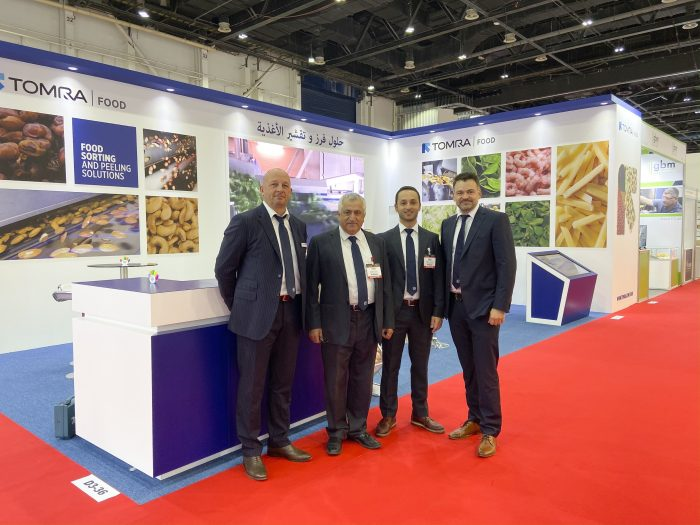 TOMRA FOOD introduced its latest technologies to food manufacturers at Gulfood Manufacturing 2019.