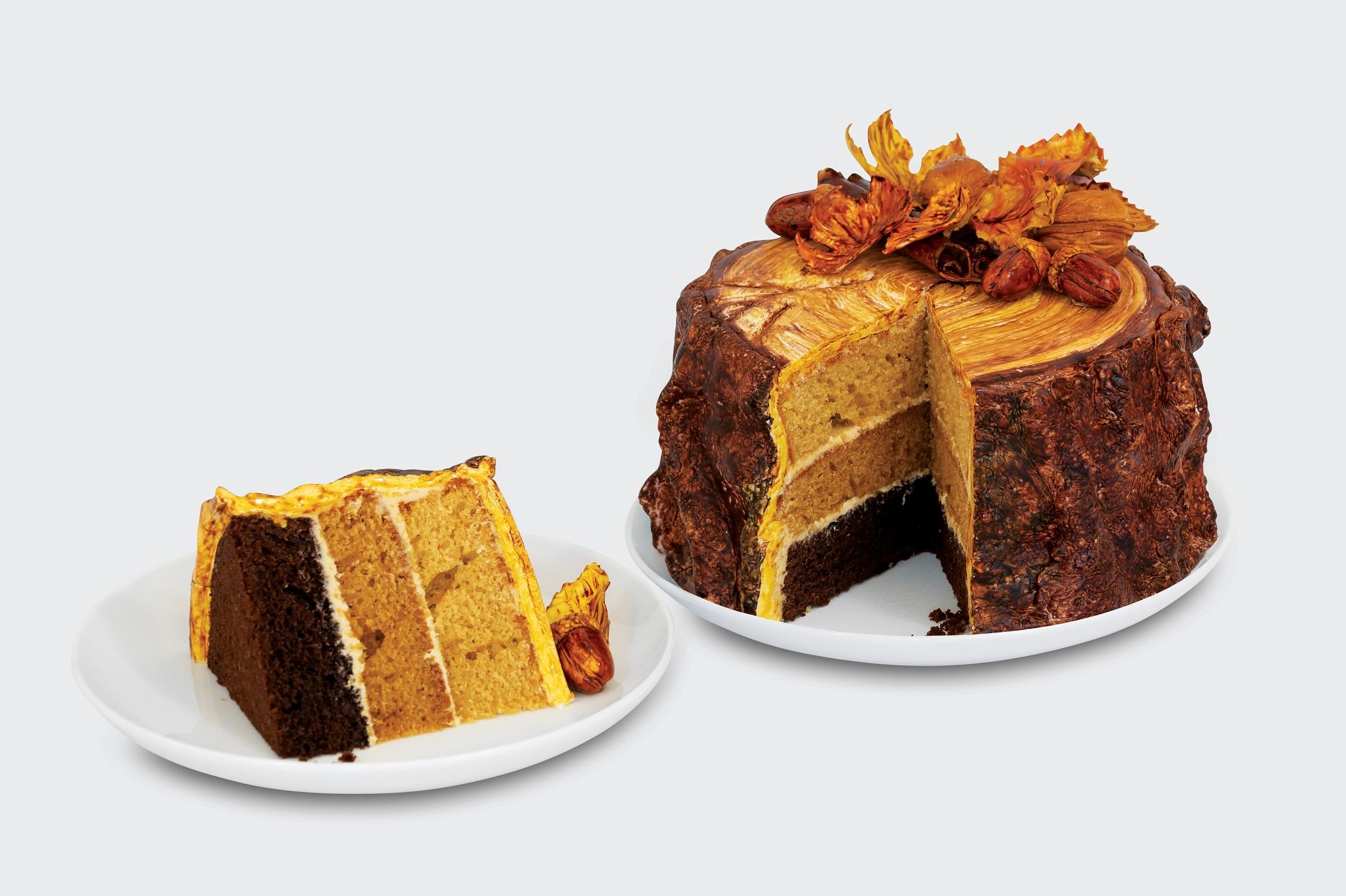 Creating seasonal tastes is a piece of cake