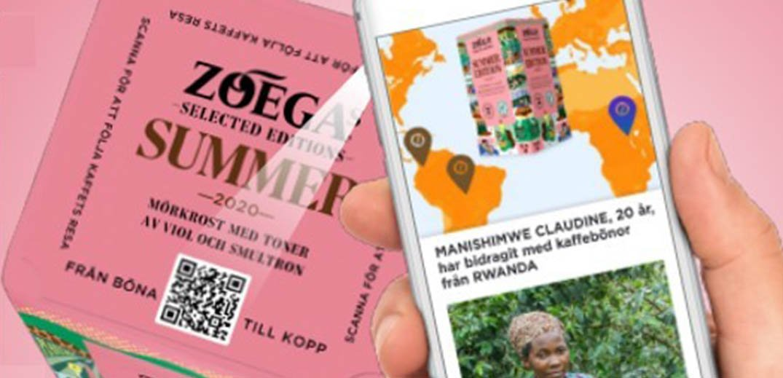 Nestlé expands blockchain to Zoégas coffee brand