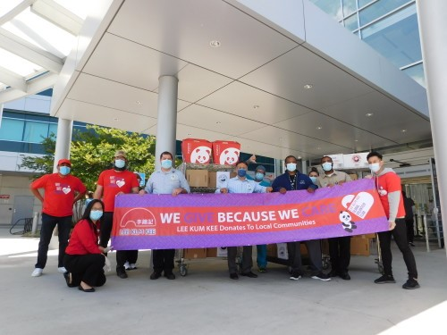 Giving Back to Our Heroes: Lee Kum Kee Sauce Group Shows Care and Support to Frontline Workers and Those in Need
