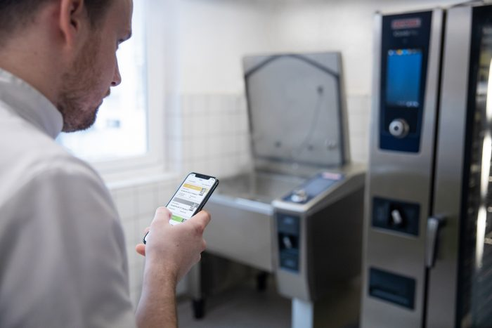 The system solution for industry catering