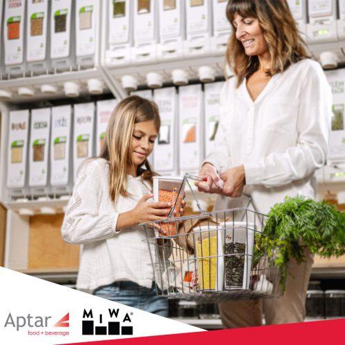Aptar Food + Beverage Announces Partnership with MIWA Technologies
