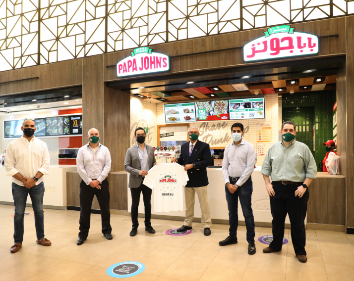 Isobar MENA awarded the creative brief for Papa John's Pizza UAE