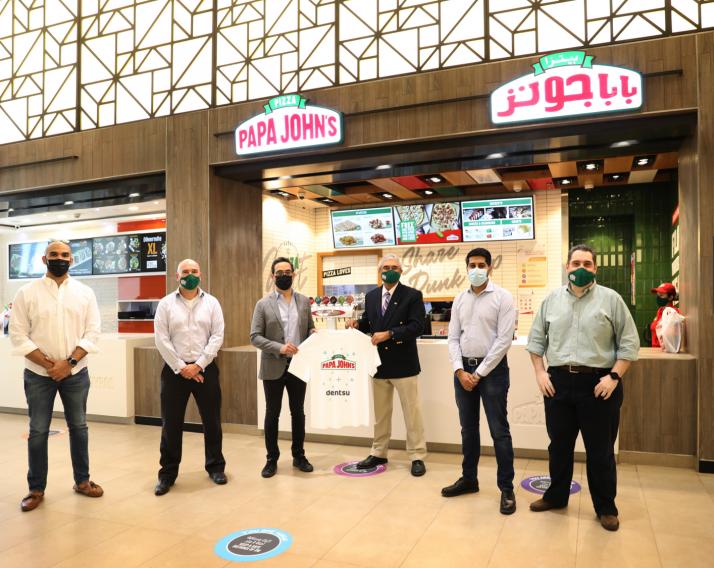 Isobar MENA awarded the creative brief for Papa John's Pizza UAE
