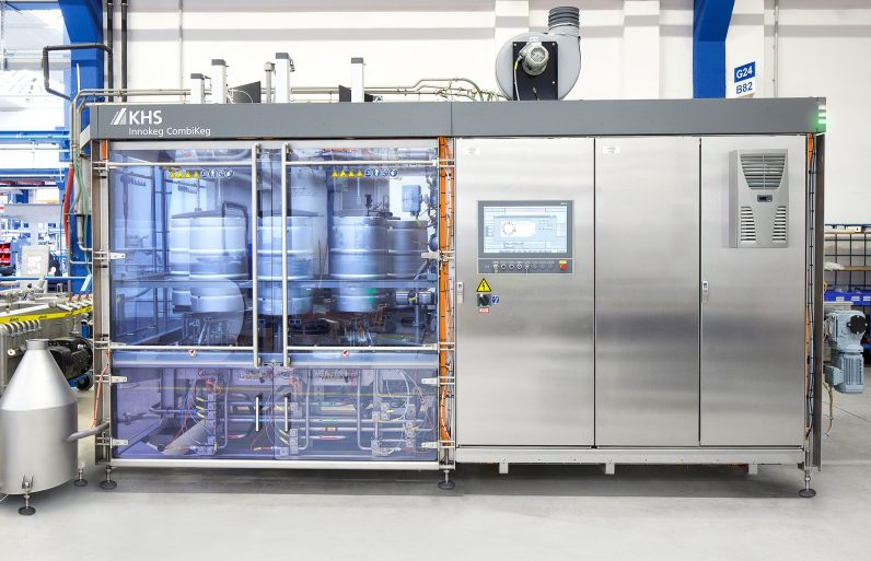 Proven technology revamped: KHS further develops its keg fillers