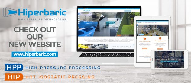 Hiperbaric Launches New Website, Offers High Pressure Technology Resources and Enhanced User Experience