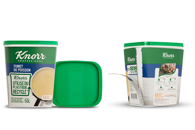 SABIC'S CERTIFIED CIRCULAR PP COPOLYMER SELECTED FOR UNILEVER'S KNORR® BOUILLON POWDER CONTAINERS