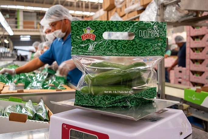 New-Tech Standing Pouches Cut Fresh Food Waste