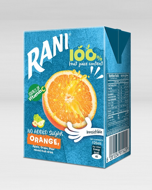 Aujan Coca-Cola launches Rani 100% juice for the first time in SIG's combiblocMini carton packs