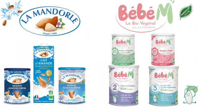 100% Organic and Plant Based brands La Mandorle & Bebe M exhibiting at Gulfood 2021