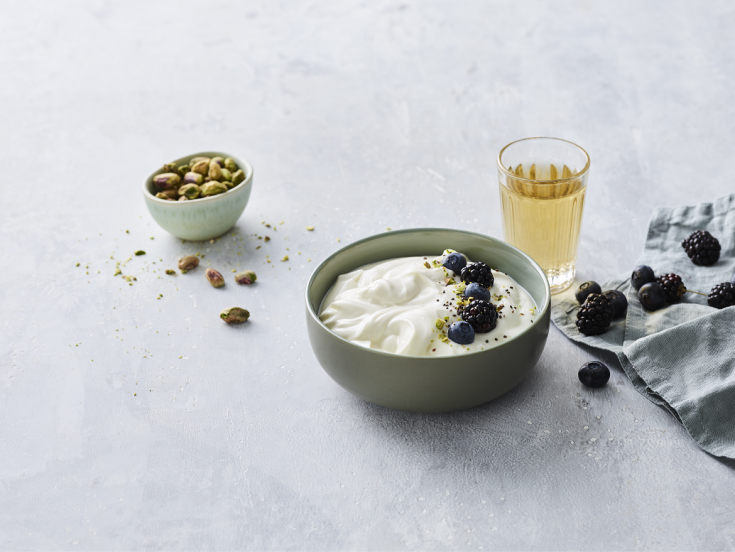 Delight consumers with premium, probiotic yogurt that satisfies the taste and supports health