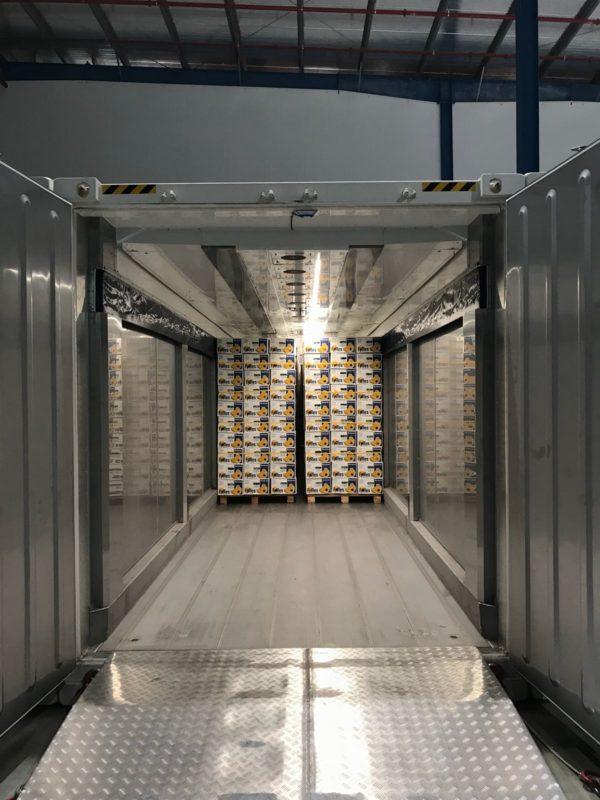 Interko Pioneers Containerised Ripening Room