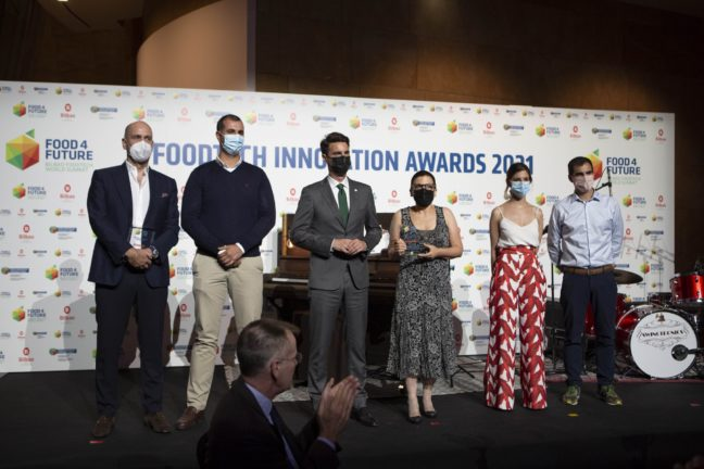 Blendhub wins the Best Sustainability Project Award at the Foodtech Innovation Awards