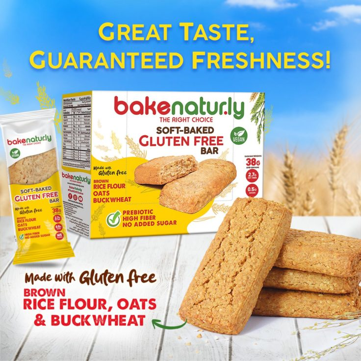 Dofreeze healthy product line Bake Naturly Brand Announces Launch of Soft-Baked Gluten Free Bar