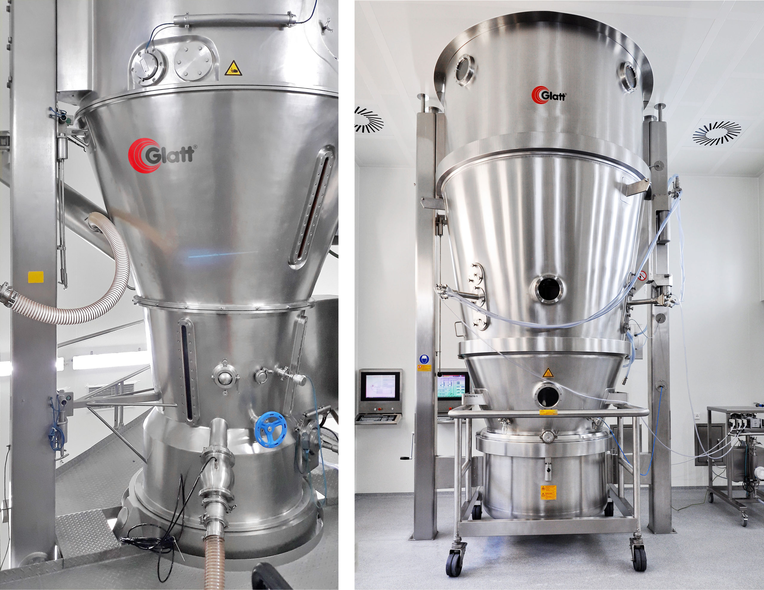 Glatt offers new fluid bed options for solvent-based processes and products requiring Kosher and Halal conditions