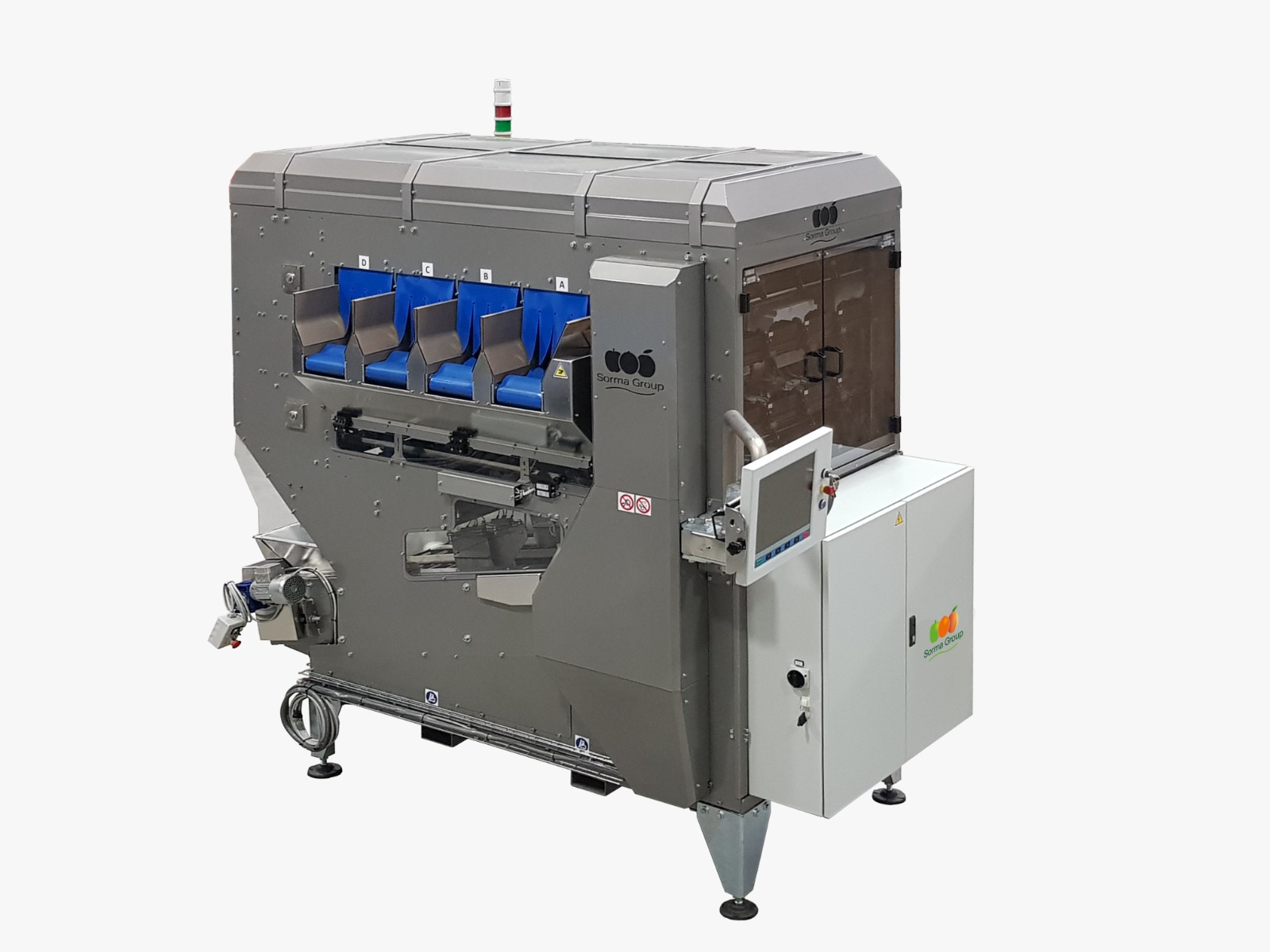 Sorma Group launches the new WD4-S weighing machine